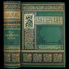 1881 WILLIAM SHAKESPEARE COMPLETE WORKS RARE ILLUSTRATED VICTORIAN FINE BINDING ENGRAVINGS PLAYS POEMS SONNETS