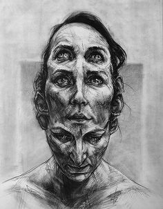 Art Drawings and paintings by artist David Theron. Found via the April Reader Submissions post. More images below. David Theron's Website Yüksel Quali. Dark Art Drawings, Art Drawings Sketches, Artwork Drawings, Arte Horror, Horror Art, Arte Dope, Mental Health Art, Gcse Art Sketchbook, Arte Obscura