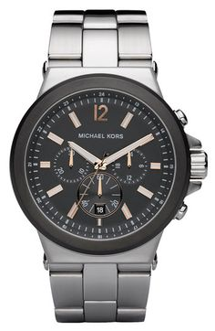 Michael Kors Chronograph Bracelet Watch available at #Nordstrom