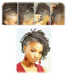 Natural Hair Braids Style