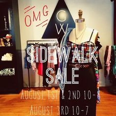 If you live in the NJ area, make sure to come visit our sidewalk sale in Ridgewood, NJ!! August 1st & 2nd from 10-8 and August 3rd from 10-7! We will see you Gypsy Warriors there!