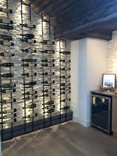 Austin, TX Parade of Homes 2015~ Wine Storage