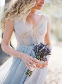 Mismatched Purple and Lavender Bridesmaid Dress Ideas Lavender Bridesmaid Dresses, Colored Wedding Dresses, Best Wedding Dresses, Wedding Bridesmaids, Bridesmaid Bouquets, Wedding Bouquet, Lavender Bouquet, Blue Wedding, Corsage