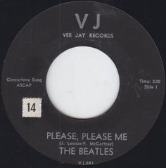 The-Beatles-45-Please-Please-Me-From-Me-To-You-Rock-1964-Vee-Jay-VJ-581