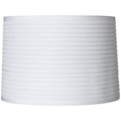 Another nook shade replacement option White Horizontal Pleat Lamp Shade 15x16x11 (Spider) $39.99