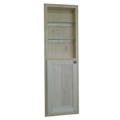 48-inch Recessed in the Wall Baldwin Medicine Storage Cabinet with 24-inch Open Shelf | Overstock.com