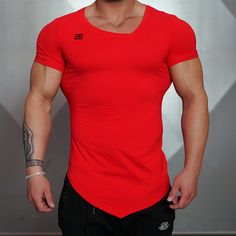 Solid Color Compression T-Shirt //Price: $18.44 & FREE Shipping // #walkingstreet #fitforthefuture Solid Color Compression T-Shirt