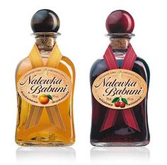 Nalewki (Polish liqueurs)  are alcoholic extracts from fruit, spices, flowers or herbs. Usually nalewki contain 40-45 per cent  alcohol just like vodka does. Unlike ordinary liqueurs, nalewki are usually aged. Their proper names are usually  derived  from the main ingredient or the traditional place of manufacture. Fruit liqueurs are most popular (morello cherry, apricot, blackberries and  quince are important examples). Honey liqueurs are also popular.