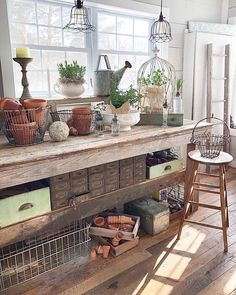 Get the Best, Less Time Consuming an Budget-Friendly Small Greenhouse Ideas and Make your Home a Sweet Home with a Touch of Nature! Home Greenhouse, Small Greenhouse, Greenhouse Ideas, Portable Greenhouse, Greenhouse Plants, Shed Conversion Ideas, Garden Shed Interiors, Greenhouse Interiors, Shed Decor