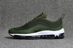 2bd5f48345 Cheap Nike Air Max 97.3 KPU Mens shoes #Black #Green #Max97 WhatsApp: