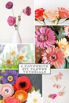 6 Favourite Diy Flower Tutorials.
