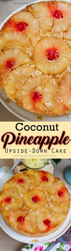 If you love tropical flavors, you are in for a treat with this simple and incredibly delicious coconut pineapple upside-down cake! The cake is so tender and every bite has tons of coconut flavor. Combine that with the caramelized pineapple and you've got yourself a slice of paradise! Watch my video recipe for step-by-step instructions! […]