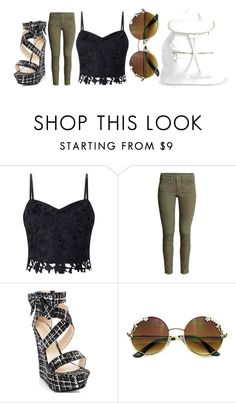 """Untitled #2542"" by misnik ❤ liked on Polyvore featuring Lipsy and Boohoo"