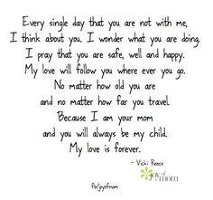 I know some day sooner than later this will have even more meaning to me as my kids grow up to adults