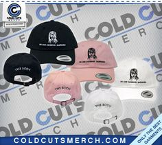 """The Body """"No One"""" Hat https://www.coldcutsmerch.com/products/the-body-no-one-hat?variant=27837743432"""