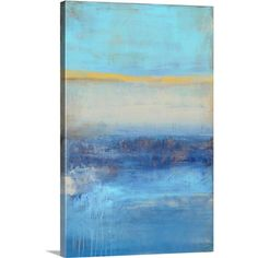 Found it at Wayfair - Rondayview Bay by Erin Ashley Painting Print on Canvas