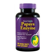 Save 75% On Natrol Papaya Enzyme (Chewable) - 100 tabs. This will sell out FAST!  Coupon Code: PAPAYA75 Expiration Date: April 5th, 2016
