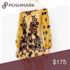 For love and lemons sierra mini dress in yellow Worn once comes with slip For Love and Lemons Dresses