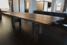 We are a New York City and Kansas City-based multidisciplinary design collective focusing on : Furniture, Objects & Surface Design Oak Dining Table, Console Table, Dining Chairs, Dining Rooms, Reclaimed Wood Furniture, Table Legs, Surface Design, House Design, Interior