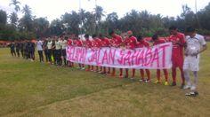 Laga Persahabatan, Semen Padang FC Cukur PS Gasliko 5-0