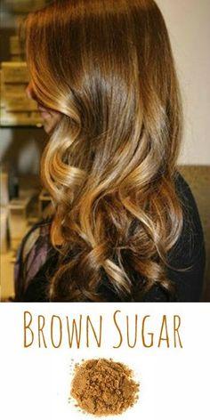2014 Hair Trend: Brown Sugar! Perfect for Blondies looking to go dark, or darkies wanting to 'go blonde'