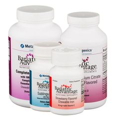 bariatric diet   Bariatric Advantage Gastric Sleeve Post-Surgery Diet Supplements Kit
