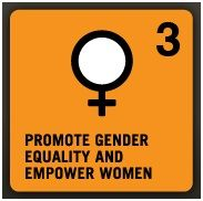 •Goal 3: Promote gender equality and empower women