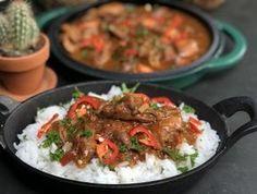 Javaanse kip stoofpot met rijst - Familie over de kook