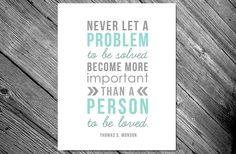 GroopDealz | Never Let a Problem 8x10 Printable