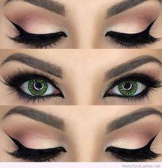 Tiger Eyes Makeup
