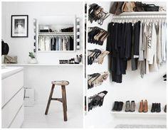 Entra y cuéntanos qué idea te gusta más para hacer un vestidor en casa.