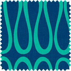 Doni - berry blue - A beautiful mix of lattice and scrollwork styles. From Jonathan Adler. Jonathan Adler, Fabulous Fabrics, Window Design, Designer Collection, Drapery, Window Treatments, Fabric Design, Swatch, Diy