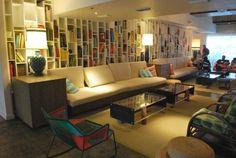 Neat living room idea from Postcard Inn Lobby