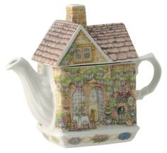 """James Sadler Teapots - """"Wysteria Lodge"""" from the English Tea Store."""