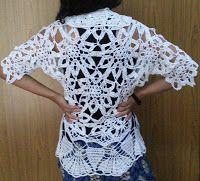 Sweet Nothings Crochet: ICE CRYSTAL BOLERO