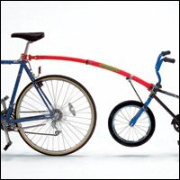 The Trail-Gator Bicycle Tow Bar $109.95