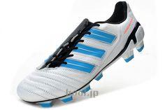 アディダス アディパワープレデター 11 アディダス スパイク サッカー adidas adipower Predator TRX FG ホワイト/ブルー  --www.hool.jp