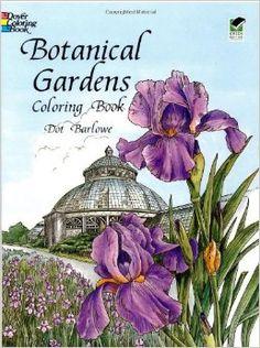 dover coloring book botanical gardens - Google Search