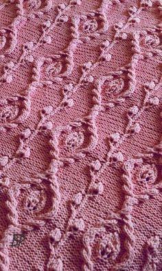 Всем привет! Сегодня у меня будет небольшой материал, скорее заметка, с красивым узором спицами, который можно применить для вязания пуловера или кофточки. Узор мне напомнил чем-то морозные разводы…