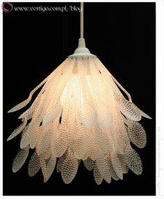 lampa z łyżek