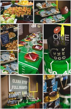 Football themed First Birthday Party New Ready Set Party Big G Turns 1 Football Party Football Theme Birthday, Boys First Birthday Party Ideas, First Birthday Party Themes, Birthday Themes For Boys, Baby Boy First Birthday, Sports Birthday, Boy Birthday Parties, 2nd Birthday, Super Bowl