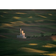 Photo by @joelsartore | The view of the Palouse hills as seen from Steptoe Butte in eastern Washingt...