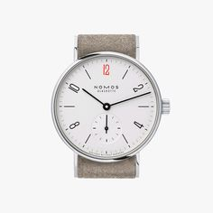 Nomos Tangente Drs. Without Borders Stainless Steel Wristwatch NO123-S3