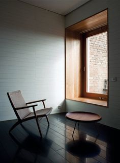 Atrio Relais-Châteaux by Mansilla + Tunon Arquitectos. Build in a wall with embedded wooden window seating Wood Windows, Windows And Doors, Big Windows, Square Windows, Modern Windows, Window Reveal, Estilo Interior, Interior Architecture, Interior Design