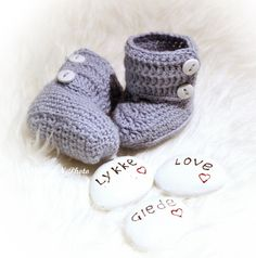 Oppskrift på baby boots