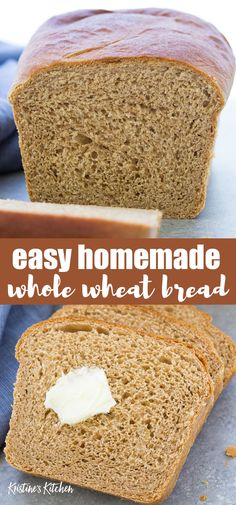 Bread Maker Recipes, Healthy Bread Recipes, Sandwich Bread Recipes, Baking Recipes, Easy Homemade Bread Recipes, Bread Flour Recipes, Homeade Bread, Homemade Sandwich Bread, Healthy Breads