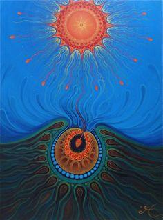 Creation Sun by Louise Benton