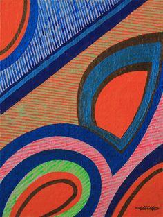 KORZH Taras, Rio, 2015, canvas on board, acrylic, 51 x 38