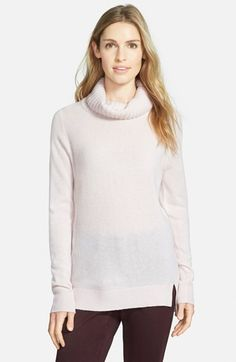 Halogen® Cashmere Turtleneck Sweater (Regular & Petite) available at #Nordstrom via @simplylulustyle