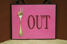 Upcycled Peace Out Sign...Upcycled by SilverBellesCrafts on Etsy